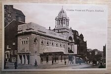 CINEMA HOUSE and fargate Sheffield  1930's RPPC