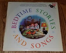 LP Vintage Kids BED TIME STORIES AND SONGS Happy Time HT-1010 Sleeping Beauty
