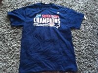 A39 New England Patriots Super Bowl LIII Champions Short Sleeve T-Shirt Large