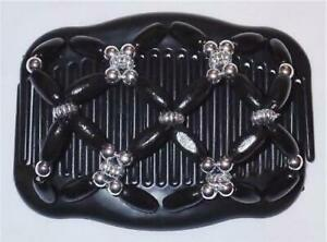 """Angel Wings Clips 4x3.5"""", African Butterfly, Comfortable, US SELLER, Quality S65"""