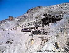 Lower Tram & Stamp Mill, Keane Wonder Mine, Inyo Cnty, California - Photo Print
