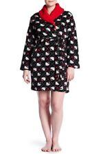 NWT Women's HELLO KITTY Size 2X Soft PLUSH Faux Shearling Robe w/Slit Pockets 2X