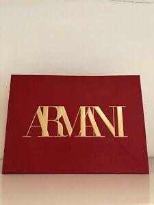 Armani Paper Bag Red 20 x 28 x 10cm