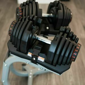 Adjustable Dumbbell Pair 1090 + Stand