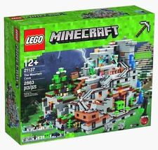 LEGO The Mountain Cave Set 21137 Minecraft NEW
