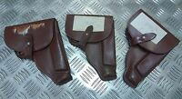 Genuine Vintage Eastern Bloc Military Brown Makarov Leather  Holster PGAS02