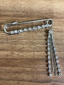 6cm Kilt Pin Brooch Rhinestone 1 - 2pcs