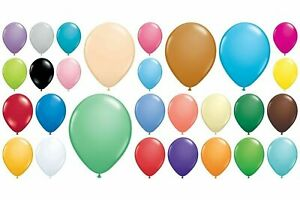 """Qualatex 11"""" Latex Balloons Pack of 5 10 25 50 100  Balloon Decorator Party"""