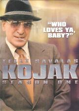 KOJAK - Season 1 (DVD 2005 3-Disc Set) (I1)