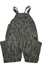 Vintage Pointer Camo Overalls Size 44 Trebark Camouflage Bibs USA Made Hunting
