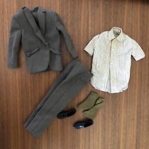 """Vintage Ken #1422 """"Summer Job"""" Suit,1966, VHTF, EXCELLENT, ONLY MISSING TIE"""