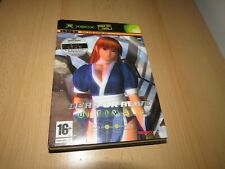 Dead Or Alive Ultimate 2 Disk Xbox Original collectors edition