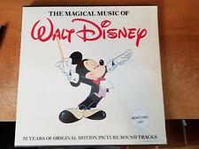 Walt Disney:The Magical Music Of Walt Disney, Sealed 4 Records & Color Book Set