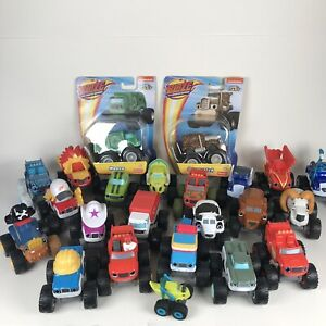 Blaze and the Monster Machines Lot Mixed NEW 23 Vehicles Starla Gasquatch Rudy