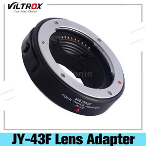 Viltrox JY-43F Autofokus AF Adapter 4/3 Objektiv zu Olympus /3 E-P1 MMF-1 U0X6