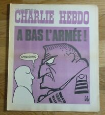 CHARLIE HEBDO n° 148 17 SEPTEMBRE 1973 -  A BAS L'ARMEE... CHILIENNE