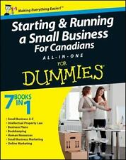 Starting and Running a Small Business For Canadians For Dummies-ExLibrary