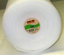 0,5m Vliese Vlieseline Volumenvlies 280 weiß