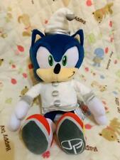 SEGA Sonic The Hedgehog White Christmas Plush doll toy JP joypolis limited tag