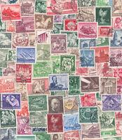 Deutsches Reich 50 verschiedene Briefmarken nur Sondermarken bis 1945 gestempelt
