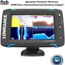 Lowrance Elite-7 Ti Touch High-Resolution Display Chirp Fishfinder/Chartplotter