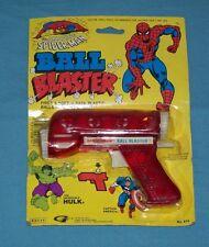 vintage THE AMAZING SPIDER-MAN BALL BLASTER gun MOC