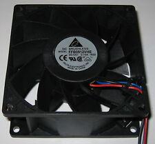 Delta 92 mm High Power Cooling Fan - 6 Watt - 12 V - 85 CFM - FFB0912VHE