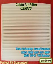 C25870 CABIN AIR FILTER for NEW GRAND CARAVAN EX35 FX35 G37 GT-R ROUTAN
