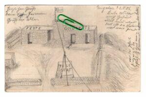 Postkarte AK DSWA  Hand gezeichnet  1906 Kolonien Keetmanshoop