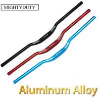 MIGHTYDUTY Bike Riser Handlebar Aluminum Alloy MTB Ultralight Bar 740/760mm