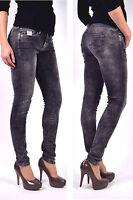 ¡NUEVO! Pepe Jeans Pixie i81 Gris Oscuro Ajustado Jeggings/Licras - W30 W31