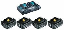 Makita Energy Kit fornito 4 Batterie 5.0Ah + caricatore doppio 18V
