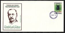Trinidad, Scott cat. 540 only. Beetle, Insect issue on a First Day Cover.