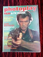 PHOTOPLAY UK FILM MAG  MARCH 1978- CLINT EASTWOOD-JOHN WAYNE - STEVEN SPIELBERG