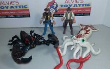 Chap Mei Action Figure monster giant squid / Scorpion (missing tail) Lot