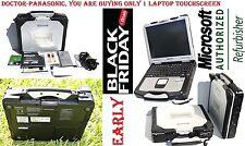 PANASONIC CF-30 L7500 2 DUO 1.6GHZ/ TOUCH/ BT/ GPS/DVD/ WIN7/ 128GB SSD/4GB RAM.