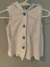 Koala Kids Infant Girl Sleeveless Hooded Cover Up Size 12 M