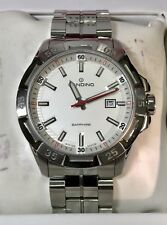 CANDINO Planet Solar World Tour Swiss Made Men's Quartz Watch C4497 20ATM 45mm