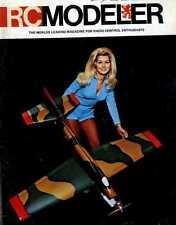 R/C RADIO CONTROL MODELLER MAGAZINE 1972 JUL PIPER VAGABOND, BELL HUEY COBRA R/C