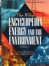 The Wiley Encyclopedia of Energy and the Environment, 2 Volume Set (Wi-ExLibrary