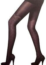 New Womens Retro Designer Pattern Thin Lace Sheer Mesh Stockings Leggings