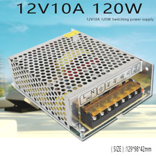 Switching Power Supply AC100-220V To DC12V 10A 120W For Led Driver Adapter 1PC