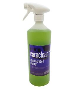 Caravan Cleaner - CaraClean Concentrated Biocide 1:100 - 1L Spray - Valetissimo