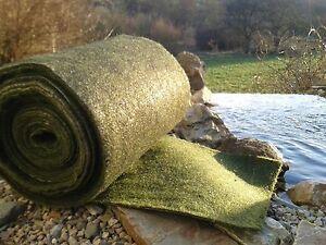 Ufermatte ( m²/4,99€ ) Bewuchsmatte Schutz für Teichfolie Teichrand Teichfolie