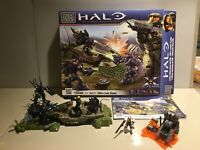 Halo Mega Bloks 96937 EVA's Last Stand 99% Complete Box, Instructions & EXTRAS