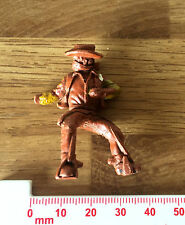 Vintage Plastic Toy Soldier American Cowboy Horse Rider No Horse / Missing Hand
