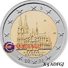 5x2 Euro Commémorative Allemagne 2011 - Cathédrale de Cologne