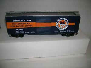 "WEAVER O SCALE 2 RAIL ""  B&O BOX CAR "" NEW OLD STOCK  ,LOT # 21468"