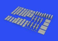 Resi Eduard Accessories 648327-1:48 German Submarine 8,8cm Gun For Trumpeter