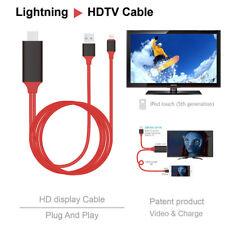 2M Apple lightning vers hdmi hdtv câble av adaptateur 1080P pour iPhone5 6 7 8 X